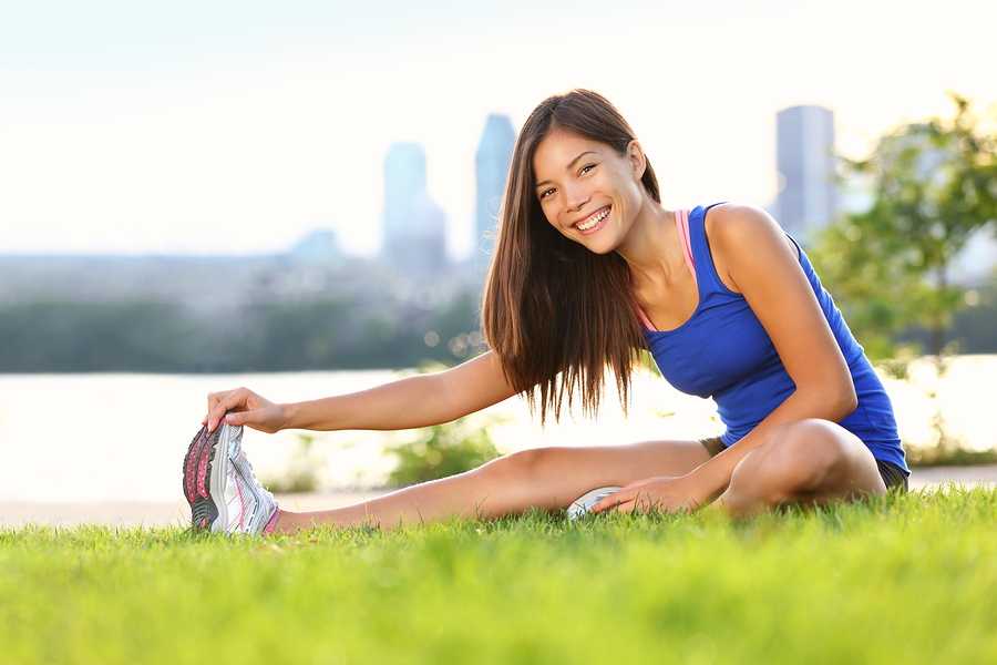 bigstock-Exercise-woman-stretching-hams-31244576